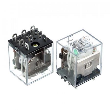 Реле JQX-13F, 12VDC, 10A (контакти-3С)