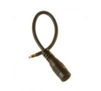"""Коннектор для світлодіодної стрічки з проводом 12V mini jack 5,5 mm """"мама"""""""