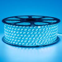 Світлодіодна стрічка синя 220V герметична smd2835 120LED/м 12Вт/м IP65