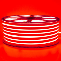 Неонова стрічка світлодіодна червона 220V smd2835 120LED/м 12Вт/м IP65