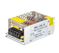Led блок живлення 5V 5A 25Вт IP20 MC