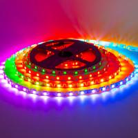 Светодиодная лента адресная 5V Shape smd5050 WS2812B 48LED/м IP120