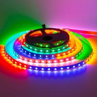 Світлодіодна стрічка адресна AVT 5V smd5050 WS2812B 60LED/м IP120