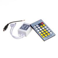 LED контроллер светодиодный W+WW 6 А-72Вт (IR 24 кнопки)