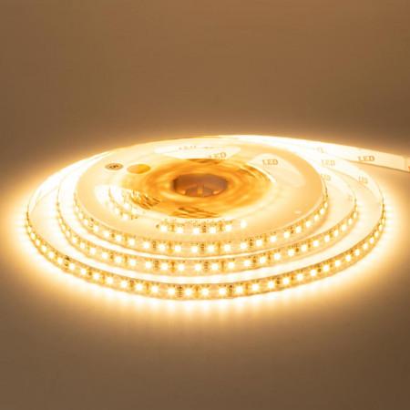 Светодиодная лента белая теплая 12V AVT-New smd2835 120LED/м IP20