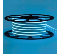 Неонова стрічка світлодіодна блакитна 12V 6х12 AVT-smd2835 120LED/м 6Вт/м IP65
