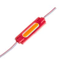 Светодиодный модуль СОВ 12 V красный 1led 2W овальный IP65