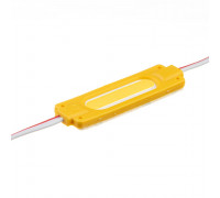 Світлодіодний модуль 12 V жовтий COB 1led 2W IP65
