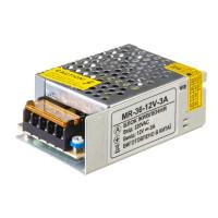 Led блок питания 12V MR-3A 36 Вт IP20