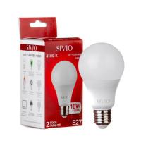 Светодиодная лампа A65 SIVIO нейтральная белая 18W E27 4100K