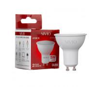 LED лампа GU10 5W MR16 нейтральна біла 4100К SIVIO