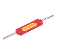 Світлодіодний модуль 24 V червоний COB 1led 2W IP65