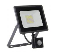 Led прожектор вуличний з датчиком руху 30Вт 6000К IP65 AVT