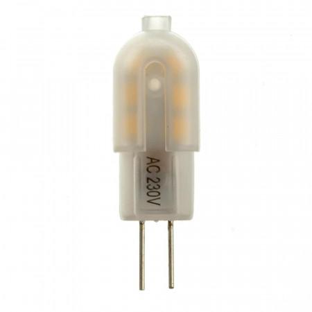LED лампа G4 220V 2W нейтральна біла 4500К пластик cob2835 SIVIO