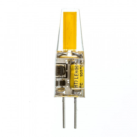 LED лампа G4 12V 3,5W нейтральная белая 4100К силикон cob1505 SIVIO