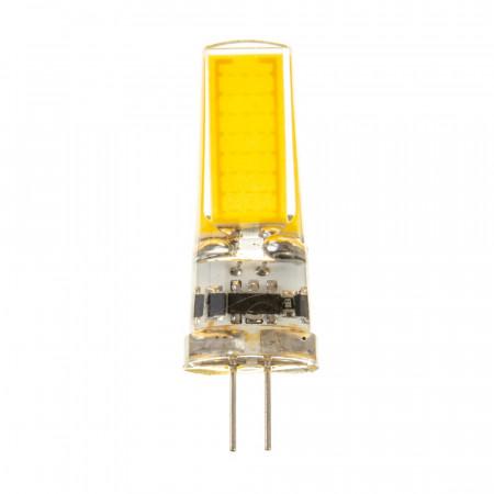 LED лампа G4 12V 5W нейтральная белая 4500К силикон cob2508 SIVIO