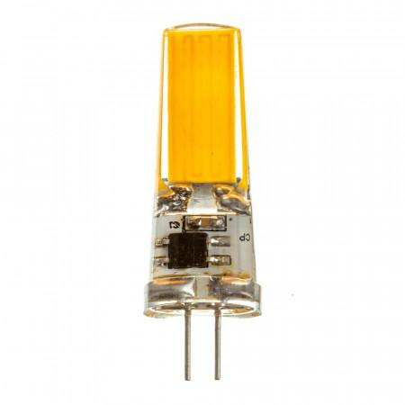 LED лампа G4 220V 5W теплая белая 3000К силикон cob2508 SIVIO
