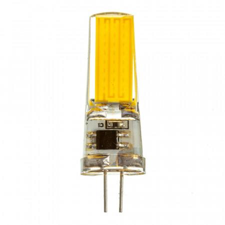 LED лампа G4 220V 5W нейтральна біла 4500К силікон cob2508 SIVIO