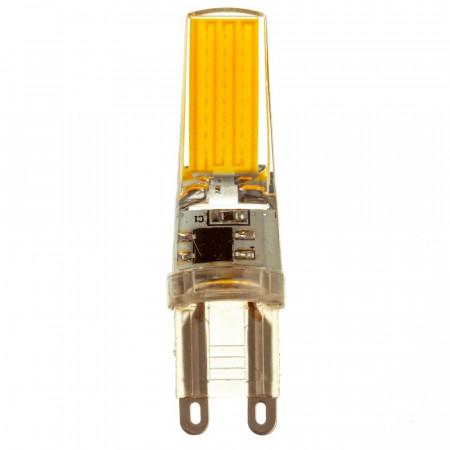 LED лампа G9 220V 5W тепла біла 3000К силікон cob2508 SIVIO