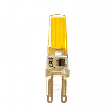 LED лампа G9 220V 5W нейтральная белая 4500К силикон cob2508 SIVIO