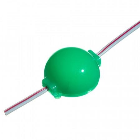 Светодиодный модуль СОВ 12 V зелёный 1led 2W IP65