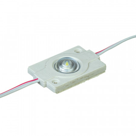 Светодиодный модуль 12 V белый холодный smd3030 1led 0.6W IP65